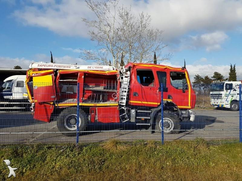 camion renault pompiers midlum 280 dxi gazoil euro 5 accident n 1895416. Black Bedroom Furniture Sets. Home Design Ideas