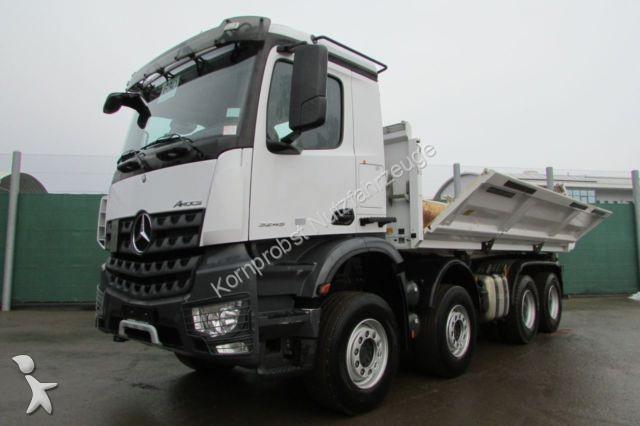 Camion mercedes ribaltabili 8x4 146 annunci di for Rimorchi ribaltabili trilaterali usati