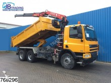 camion DAF CF 75 360 6x4, Fassi F130 A 22 Crane, Manual, Na