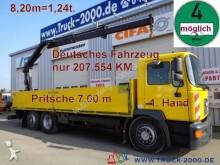 camión MAN 25.264 Hiab Kran 8,20m=1,24t.*1.Hand*4Sitzer*7m