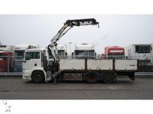 camión MAN TGA 26.413 6X2 OPEN BOX WITH HMF 1820 CRANE