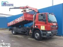 camion DAF CF 75 310 Fassi F 110 crane, Manual, Steel suspe