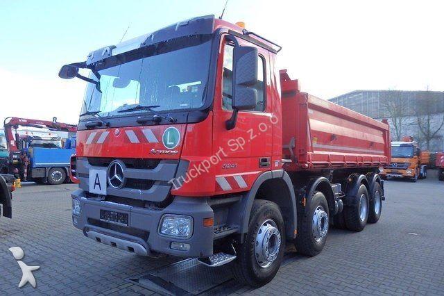Camion mercedes ribaltabili 720 annunci di camion for Rimorchi ribaltabili trilaterali usati