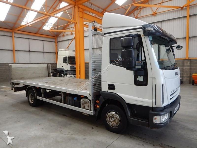 camion iveco plateau standard euro cargo 75e16 4 x 2 7 5 tonne flatbed 2008 sr08 dny. Black Bedroom Furniture Sets. Home Design Ideas
