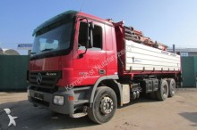 camion Mercedes 2636 6x4 BB - KRAN FUNKFERN SEILWINDE