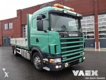 camión caja abierta Scania