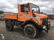 camión Unimog U 1600 Dreiseitenkipper HU 02/2018