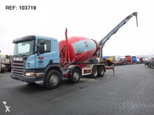 camión Scania P420 MIXER FULL STEEL MANUAL