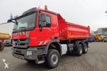 camion Mercedes Actros 3341 AK 6x6 Eur5 Dreiseitenkipper Meiller