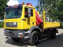 camion MAN TGM 18.280 4x4 EURO4 Pritsche mit Kran Tirre