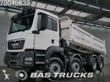 camión MAN TGS 41.400 M 8X4 Manual Big-Axle 3-Seiten Steels