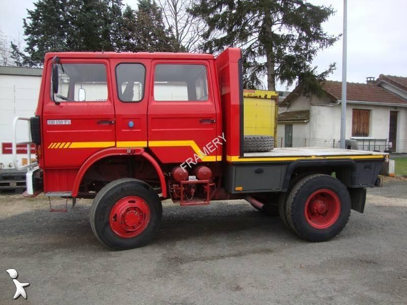 used renault 110 150 flatbed truck 4x4 diesel euro 0 n 1930923. Black Bedroom Furniture Sets. Home Design Ideas