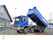 camion Mercedes 4141 K 8x6 -TÜV NEU! Langendorf Stahl Mulde