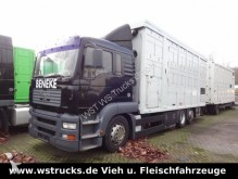 camion MAN TGA 26.410 Menke 2 Stock Vollalu Hubdach