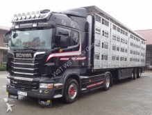 camión Scania R 480 Highl. mit Menke 4 Stock