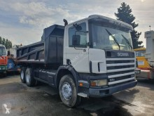 Scania two-way side tipper truck