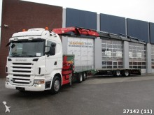 camión Scania R 500 6x2 V8 Euo 5 Fassi 41 t/m Kan + wipka