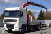camion DAF XF 95.430 * Pritsche 6,40 m + KRAN Top Zustand!