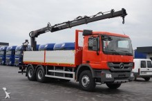camion Mercedes ACTROS / 2636 / 6 X 4 / MP 3 / SKRZYNIOWY + HDS