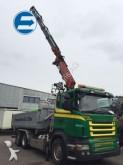 camión Scania R420 LB 6x2 KIPPBRÜCKE MIT LADEKRAN