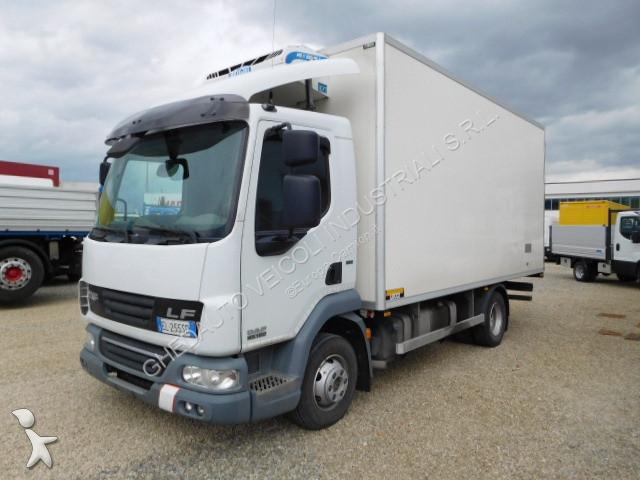 camion daf frigo lf 45 gasolio euro 5 usato n 1938490. Black Bedroom Furniture Sets. Home Design Ideas