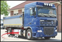 camion DAF XF AE 105.460 SC, ZF-Intarder 3 Seitenkipper