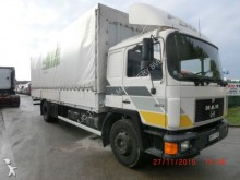 camion MAN 17.232 - 6 cylinders - stake body + alu sideboar