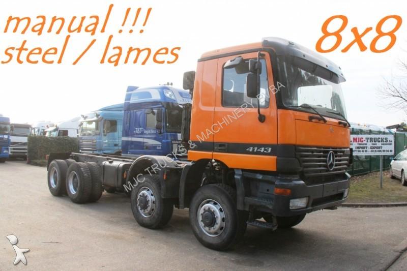 camion mercedes ch u00e2ssis 4143 - 8x8   manuelle