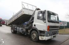 camion DAF 85 ATI 330 - HIAB 102-1 - STEEL SPRING / SUSP. L