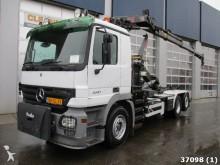 camion Mercedes Actros 2541 Hiab 12 ton/meter Kran