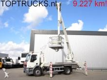 camión plataforma elevadora usado