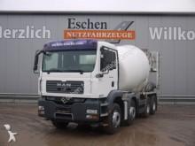 camión MAN TGA 32.400 8x4, Stetter 9 m³, Klima
