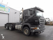 camión Scania R580 - V8 - manual full steel