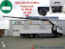 camion Mercedes 2541 Actros Hiab288*FB*28 T/M*TwistLock*el.Winde