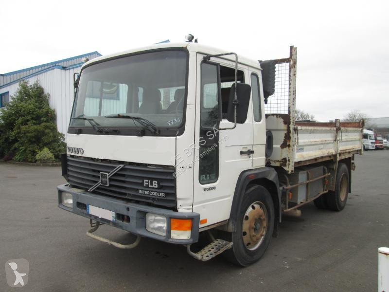 Volvo FL6 tipper truck, 9 ads of used tipper truck