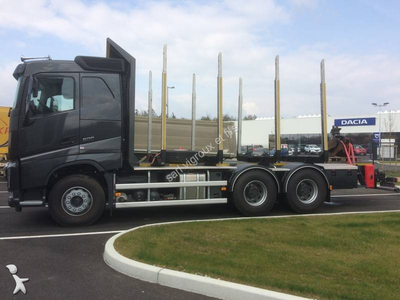 new volvo fh timber truck 500 6x4 diesel euro 6 n 1949003. Black Bedroom Furniture Sets. Home Design Ideas