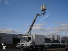used telescopic articulated aerial platform truck