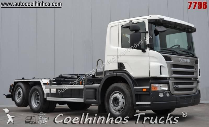 Camion porte containers sans grue portugal 13 annonces de - Camion porte container avec grue occasion ...