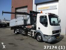camión DAF FA 45 LF 130 Hiab 1,3 ton/meter Kran + zijlader