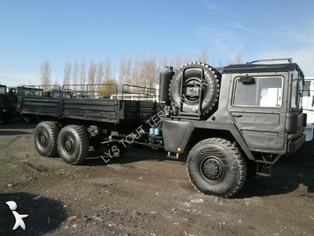 camion man militaire kat1 6x6 gazoil euro 0 occasion n. Black Bedroom Furniture Sets. Home Design Ideas