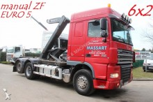 camión DAF XF 105.410 - MANUAL ZF - 6x2 - EURO 5 - CONTAINE