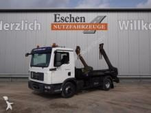 camión MAN TGL 12.210 4x2, Meiller AK 7 Teleskopabsetzer