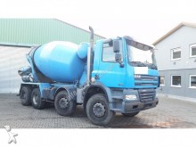 camión DAF FAD85.340S B 8x4 Stetter 8 m³ Mixer deutscher Brief