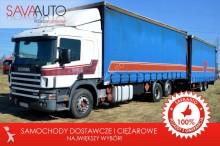ciężarówka Scania *124L 400*2 BAKI*RETARDER*ZESTAW*120m3*