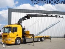 camión Scania P340 6X2 EFFER 370-6S CRANE / KRAN