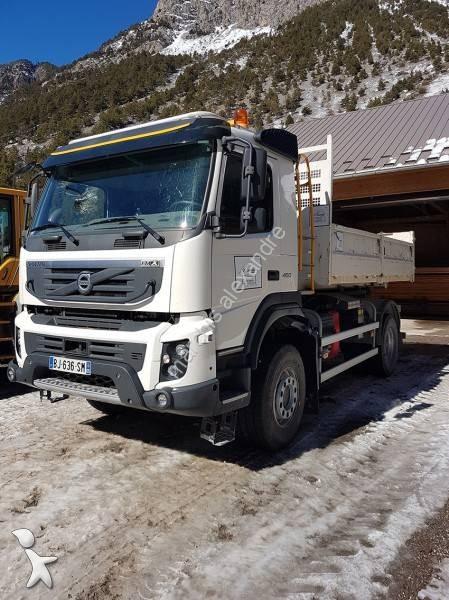 camion volvo polybenne ampliroll fmx 460 4x4 gazoil euro 5. Black Bedroom Furniture Sets. Home Design Ideas