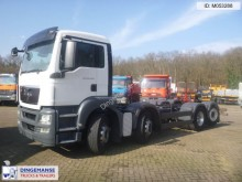 camión MAN TGS 35.440 8x4 chassis + hydrodrive + steering a