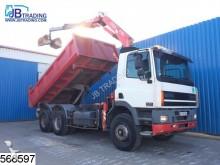 camión DAF 85 CF 380 6x4, Fassi F130 A 22 crane, Manual, St