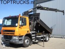 camión DAF CF 65.220 HIAB KRAN + KIPPER