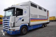 camion trasporto bestiame Scania